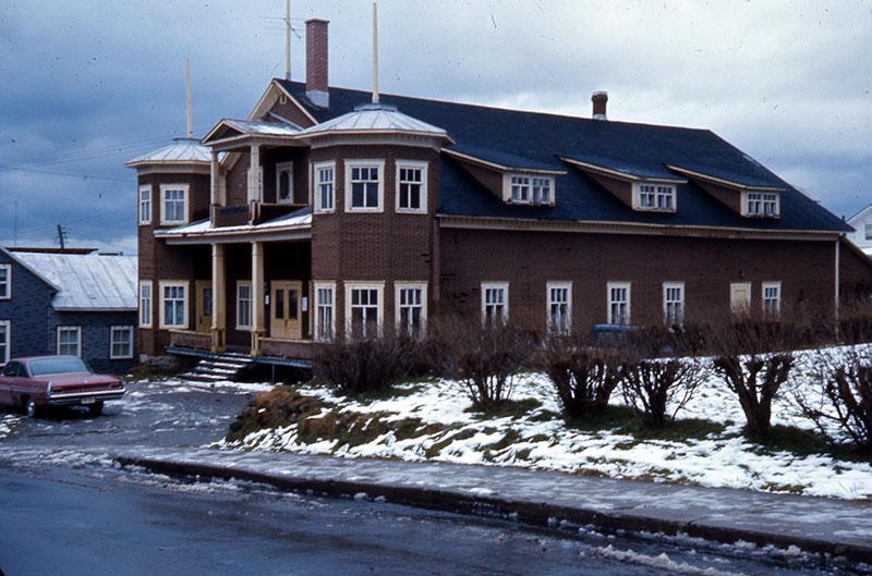 L'ancienne salle municipale construite en 1945