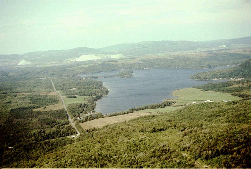 Le lac du Huit en 1983