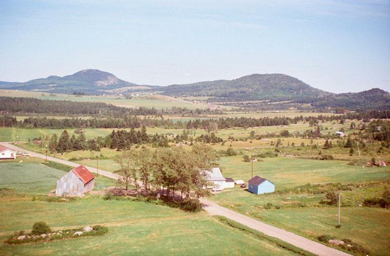 Le paysage rural en 1983