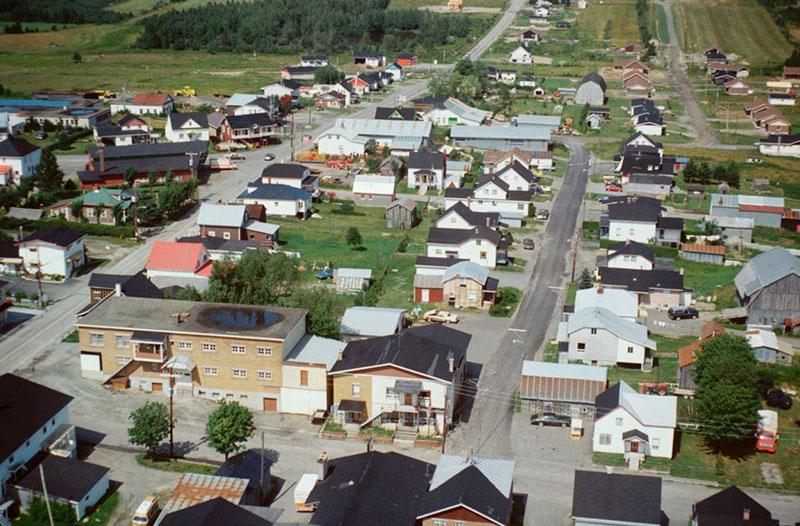 Le village en 1983